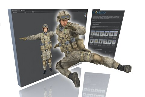 Mixamo features hundreds of customizable animations for your games.