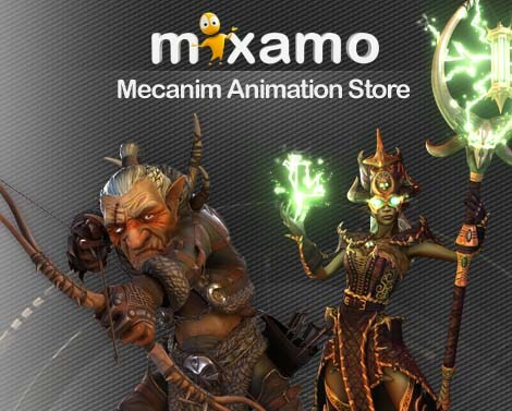Mixamo Unlimited Animation Store
