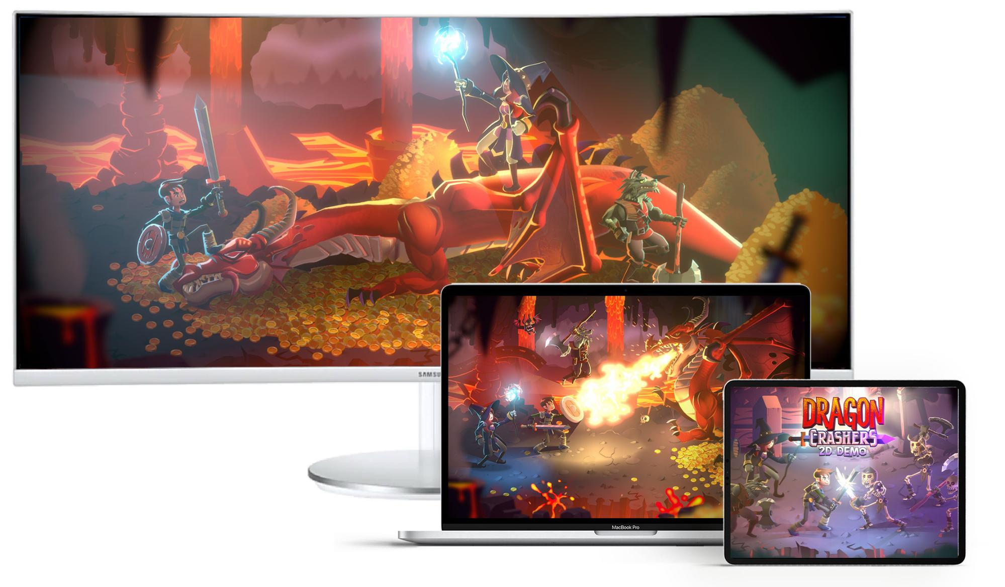 Dragon Crashers Backgrounds on PC, Laptop and Tablet.