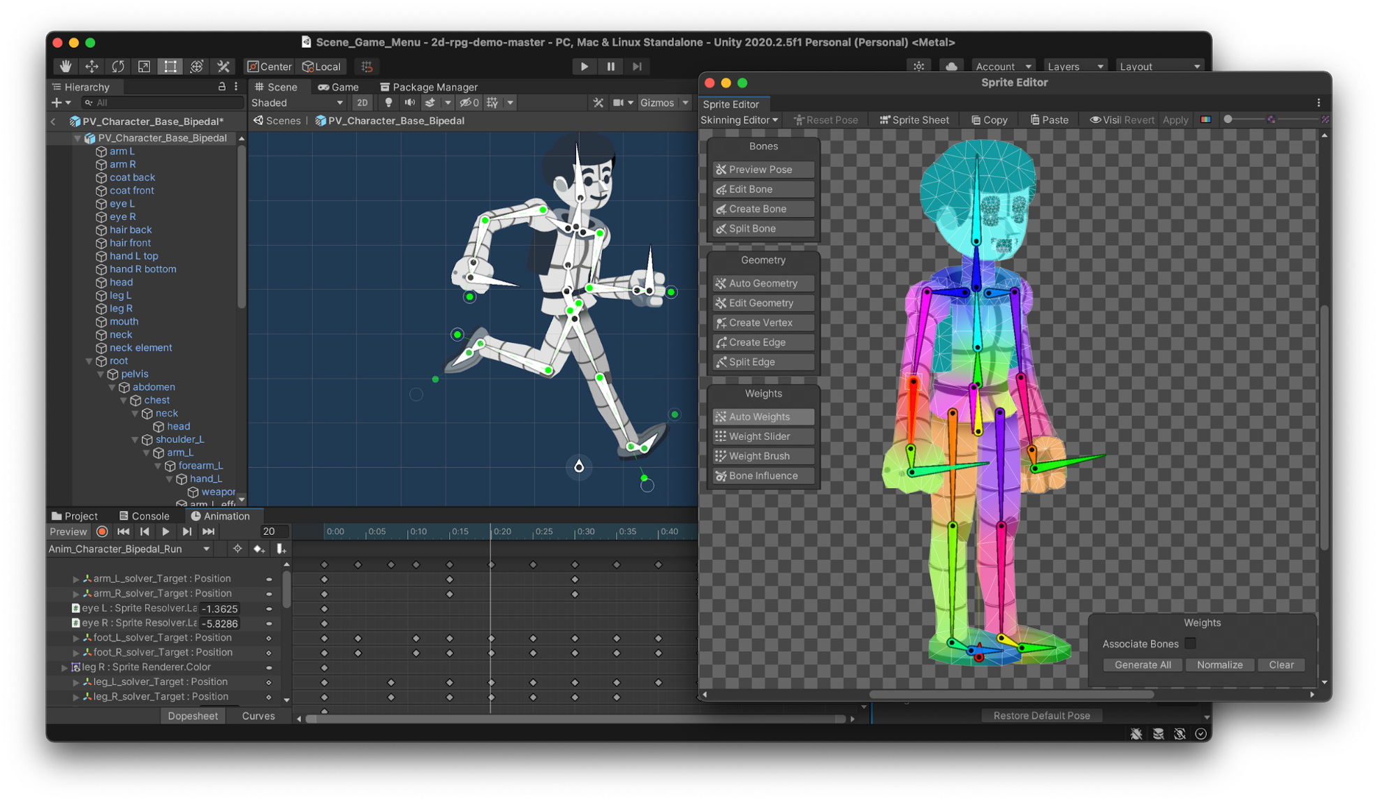 Image of character model