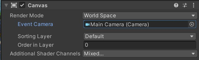 Image of the Camera space canvases dialog box with a greyed out background and white text.