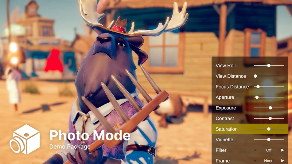 Photo Mode Demo Package title and preview image