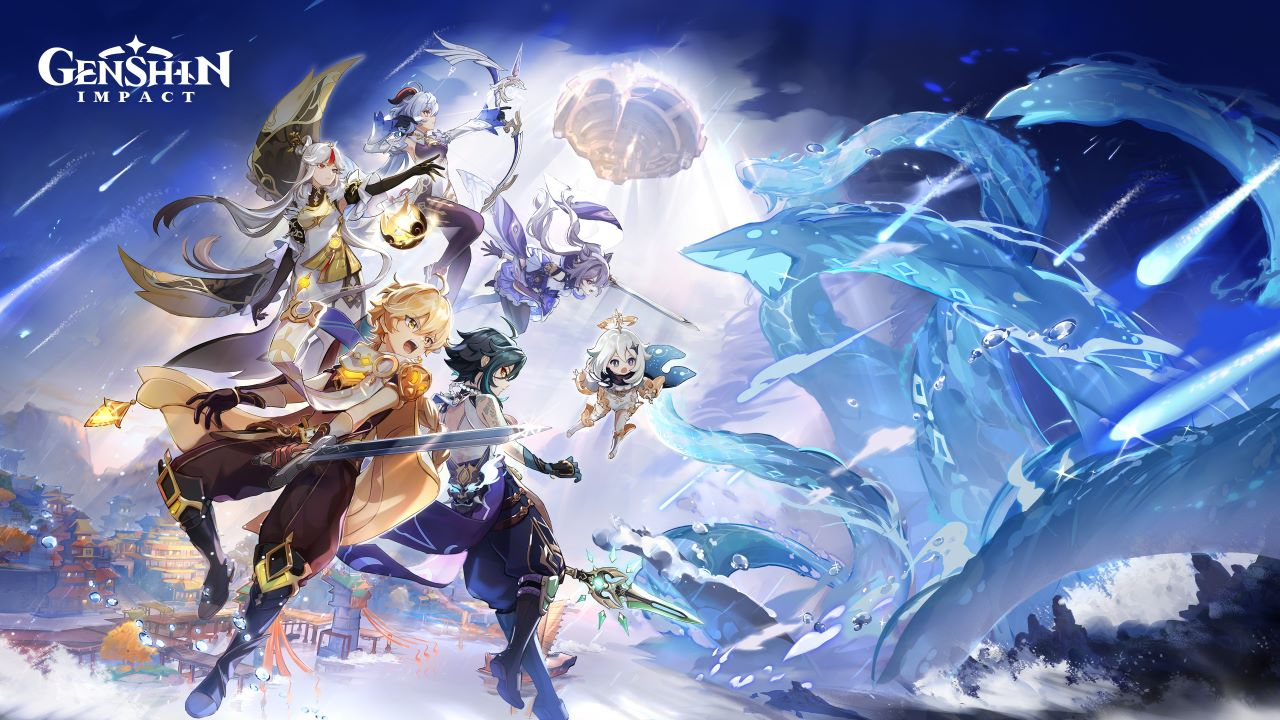 Image of characters from Genshin Impact
