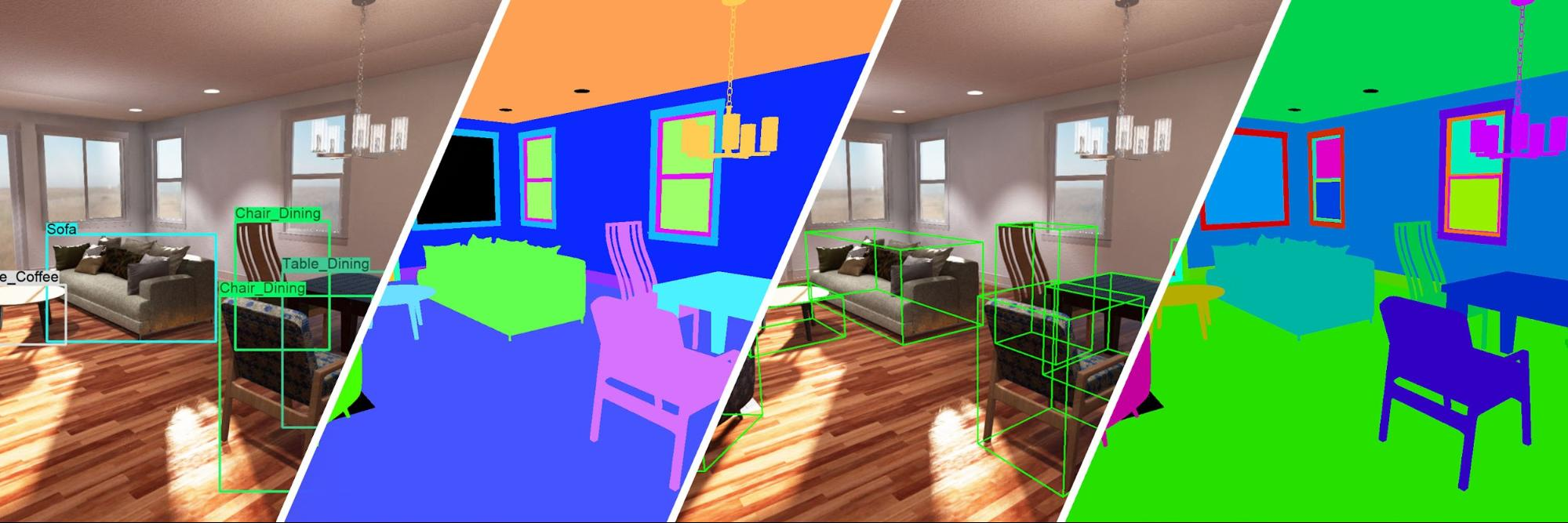 images illustrating machine learning and computer vision
