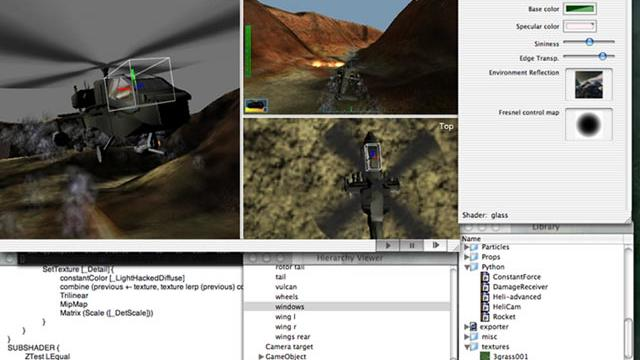 Unity 0.2 (or thereabouts)