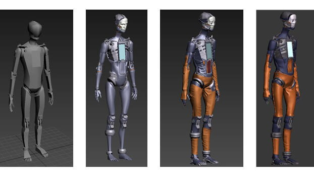 Different stages of Adam's model