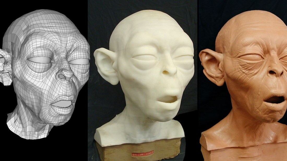 Gollum from digital to physical