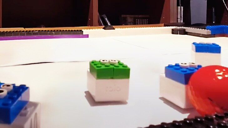 Picture of lego ML/AI agents