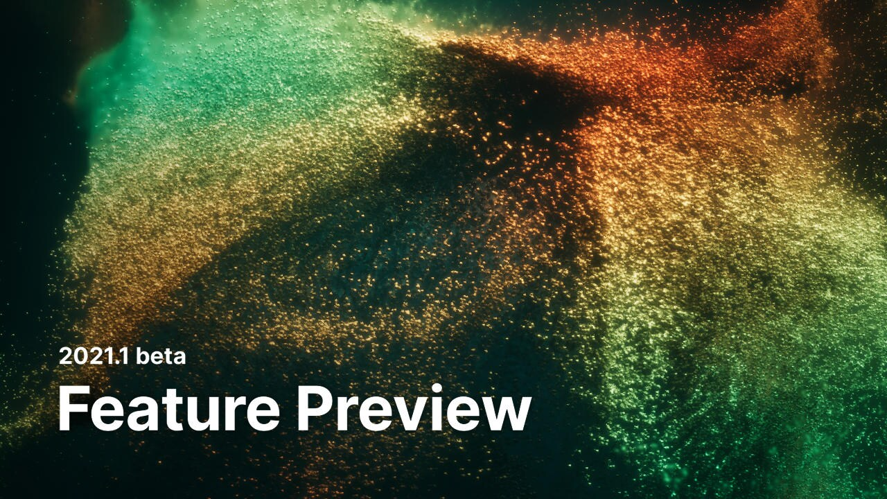 feature preview banner