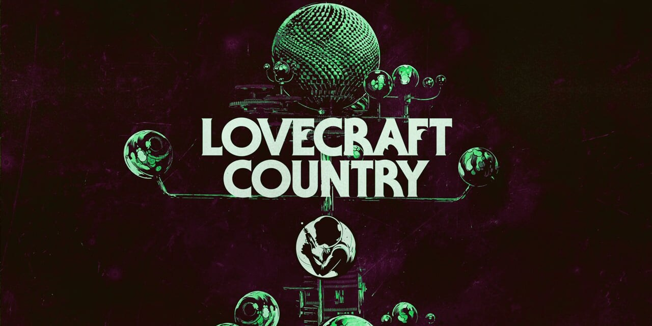 The green Lovecraft Country Logo